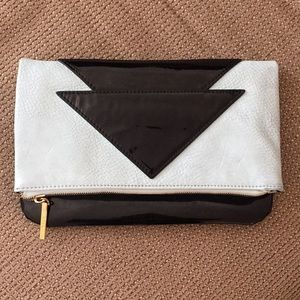 BCBG Fold Over Clutch
